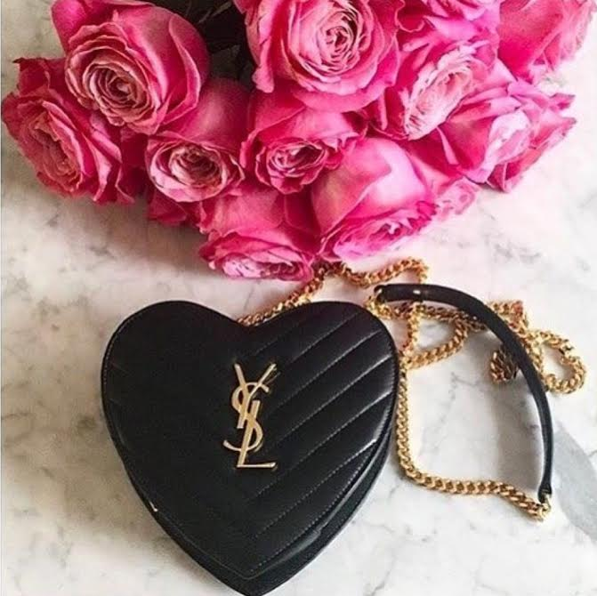 Heart Shaped YSL purse