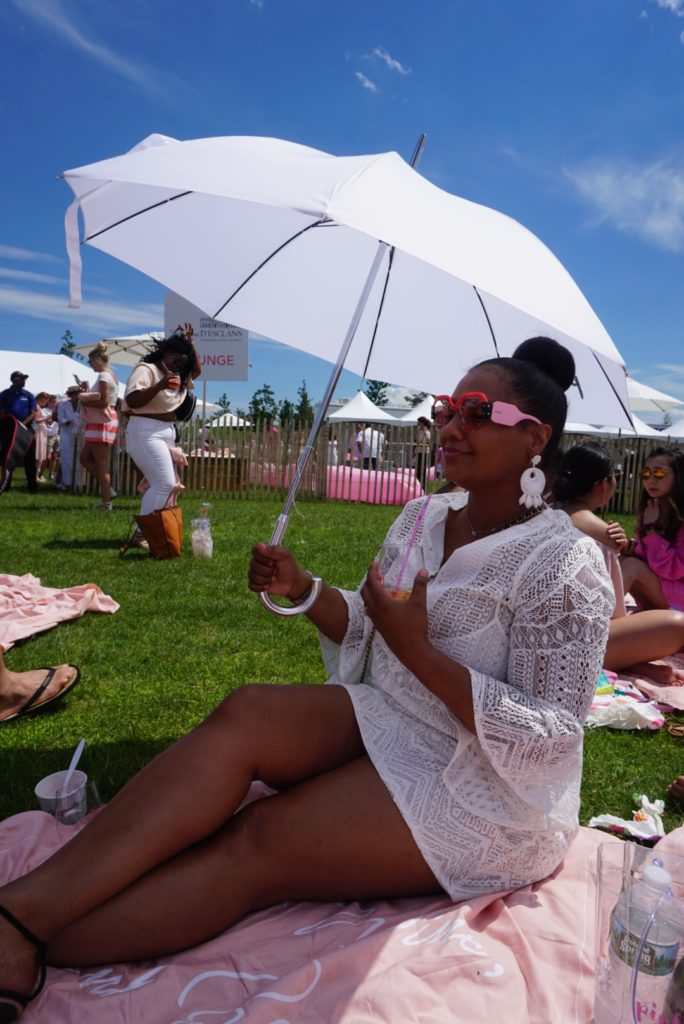Fun at Pinknic Festival on Governors Island