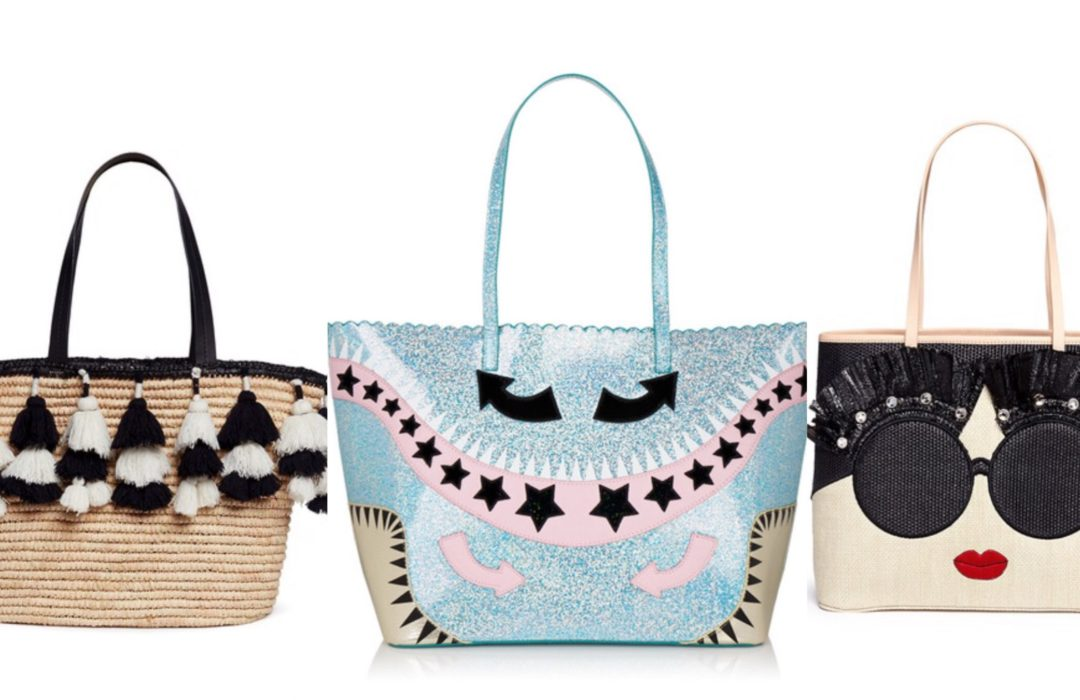 CUTE SUMMER BEACH TOTES