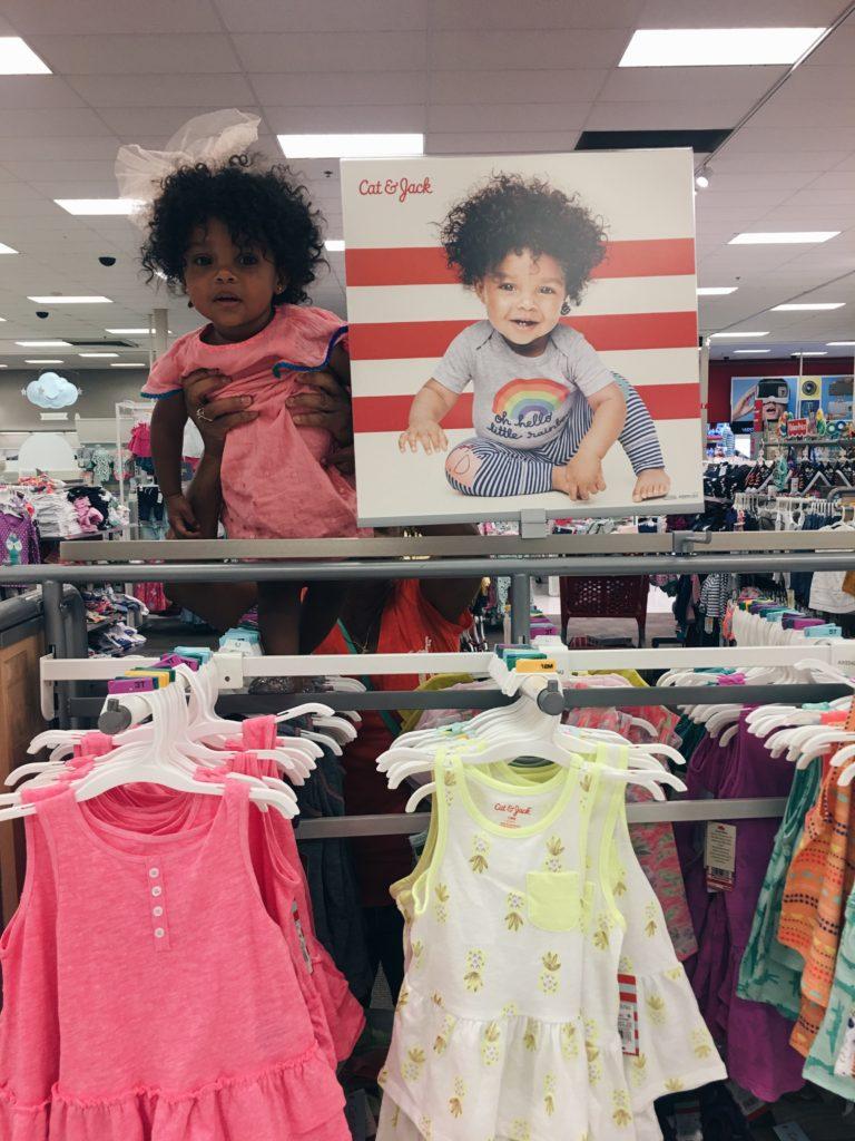 AnnDrew modeling for Target - InDrewsShoes.com